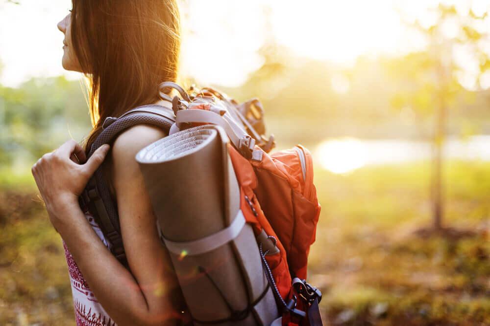 Niet bang zijn om alleen te zijn alleen op reis