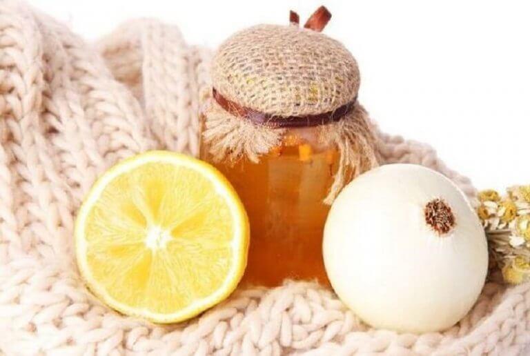 Uien en honing