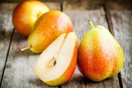 Constipatie bestrijden met peren