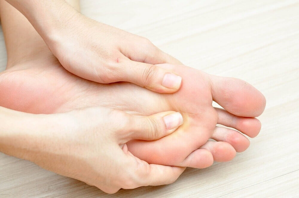 Beginstadium van diabetes: voetproblemen