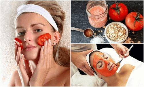 5 schoonheidsbehandelingen met tomaat om te proberen