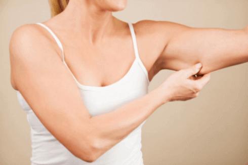 Slanke armen door vet te verminderen
