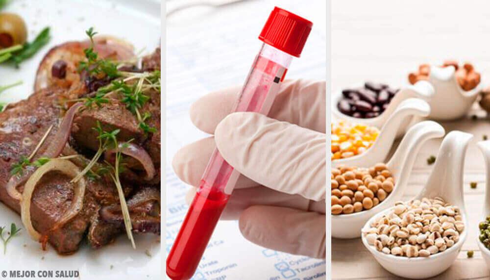 Gezond bloed met de deze 5 voedingsmiddelen