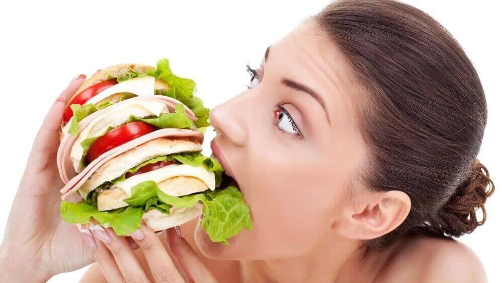 Beginstadium van diabetes: drang om te eten