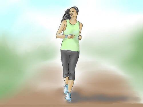 Dagelijks wandelen helpt je om in vorm te blijven