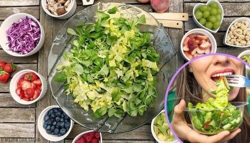 5 makkelijk te bereiden en gezonde salades