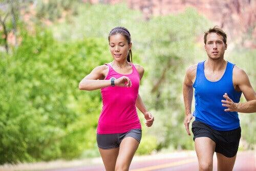 Een uur hardlopen per dag