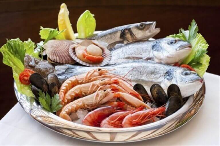 Vis en schelpdieren voor een gezondere schildklier