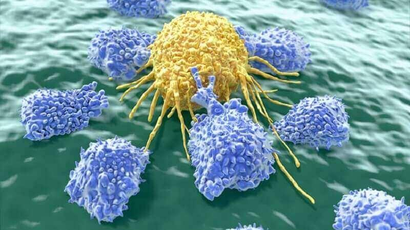 Kankercellen die witte ontlasting kunnen veroorzaken