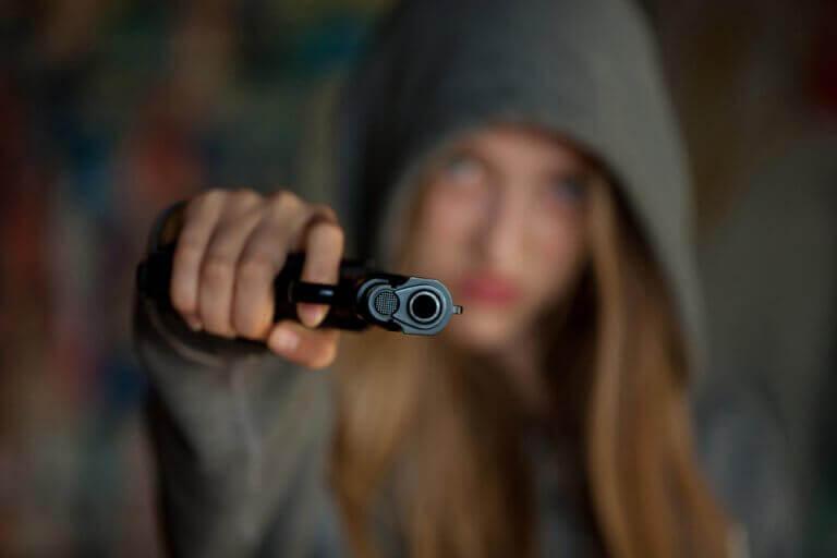 Meisje met een pistool
