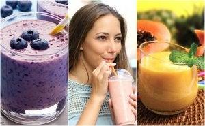 5 heerlijke en gezonde ontbijtsmoothies