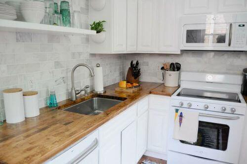 Ideeen Keuken Kleine : Vier perfecte ideeën om een kleine keuken in te richten