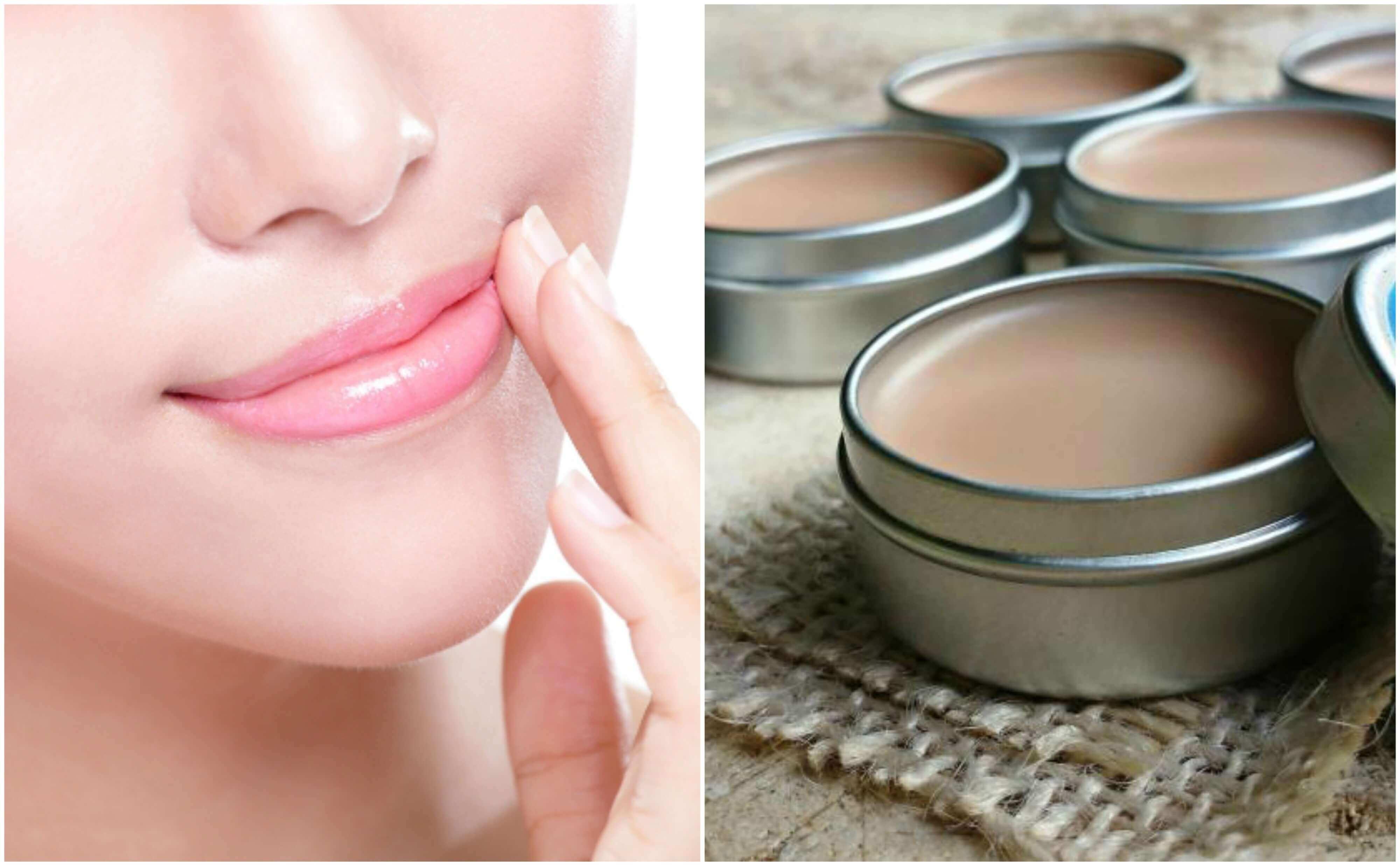 Vaseline te gebruiken om vocht in de lippen in te brengen