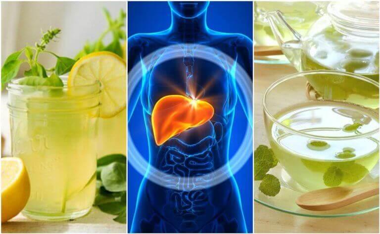 Je lever reinigen terwijl je slaapt door deze 5 drankjes te nemen