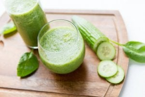 Komkommersap vermindert vochtophoping