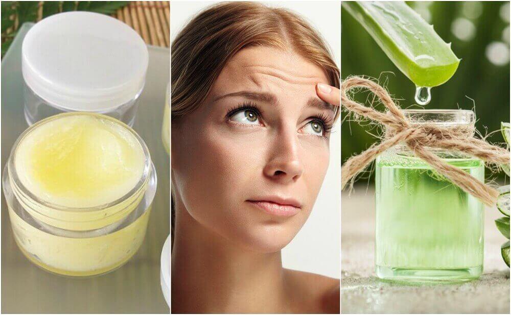 5 remedies om de rimpeltjes op je voorhoofd te verzachten