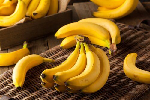 Vruchten beperken bananen grapefruit