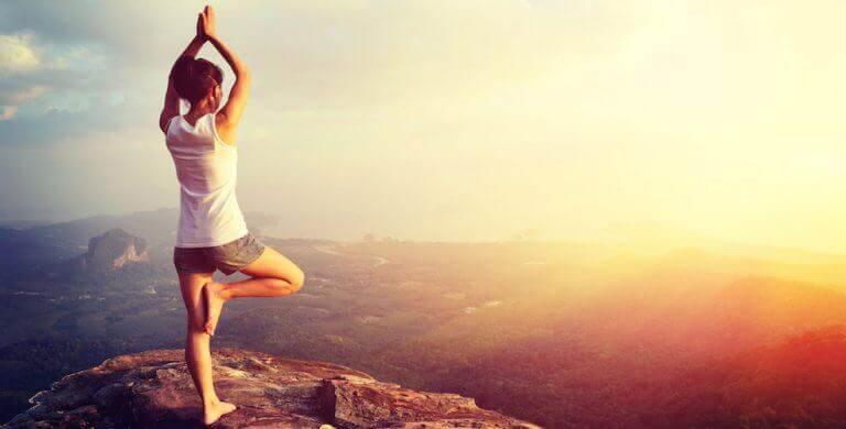 Afslanken met yoga