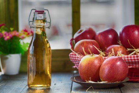 Met appelazijn een eind maken aan vervelende insecten