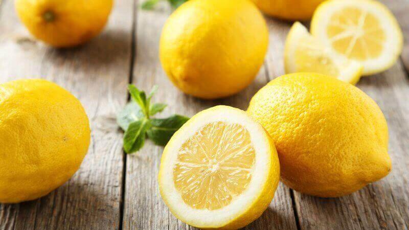 Je lichaam ontgiften met fruit zoals citroen