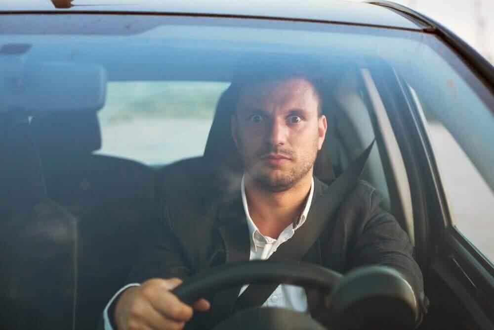 Angst om auto te rijden