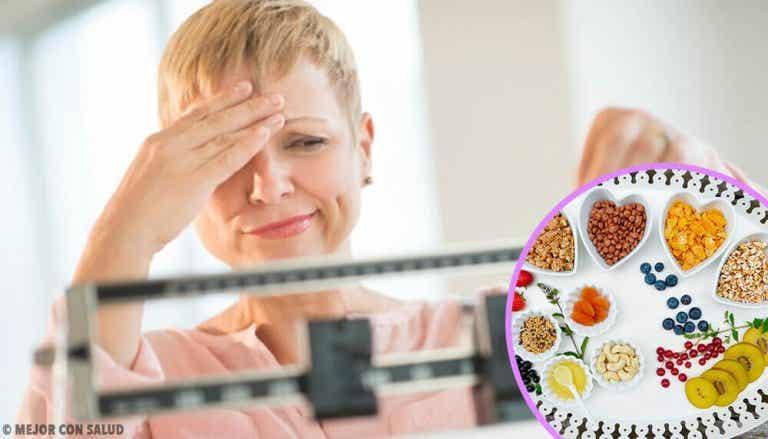 Afvallen tijdens de overgang is mogelijk met dit dieet