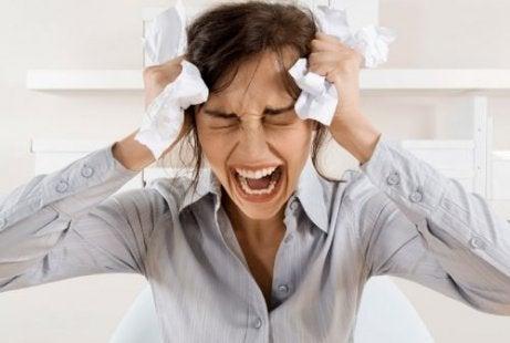 Oorzaken van haarverlies: chronische stress