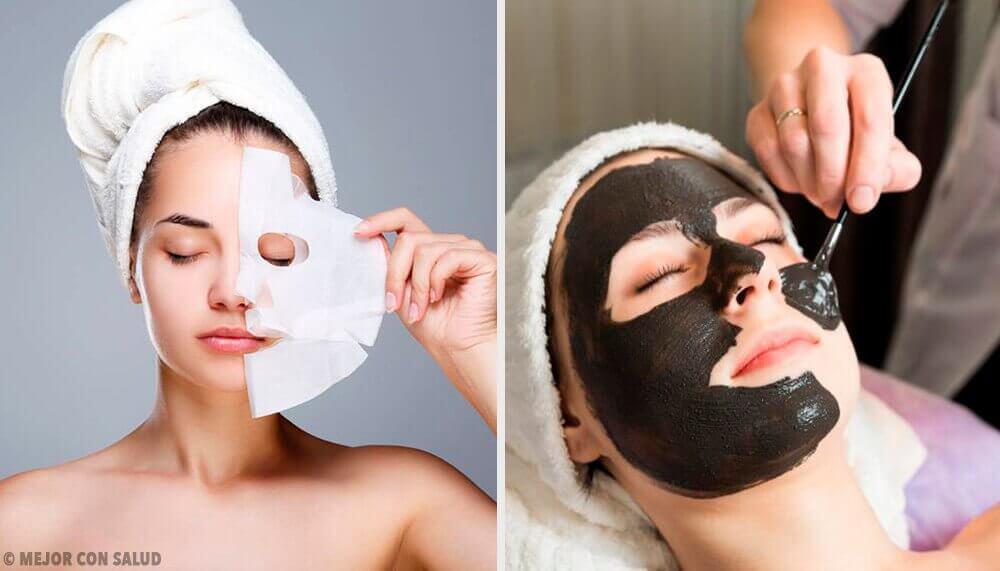 Peel-off gezichtsmaskers met gelatine laten de huid herleven