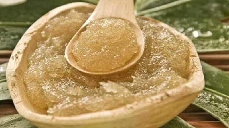 Olijfolie en suiker