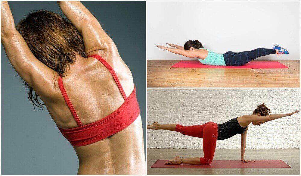 5 oefeningen voor je rug zonder gewichten