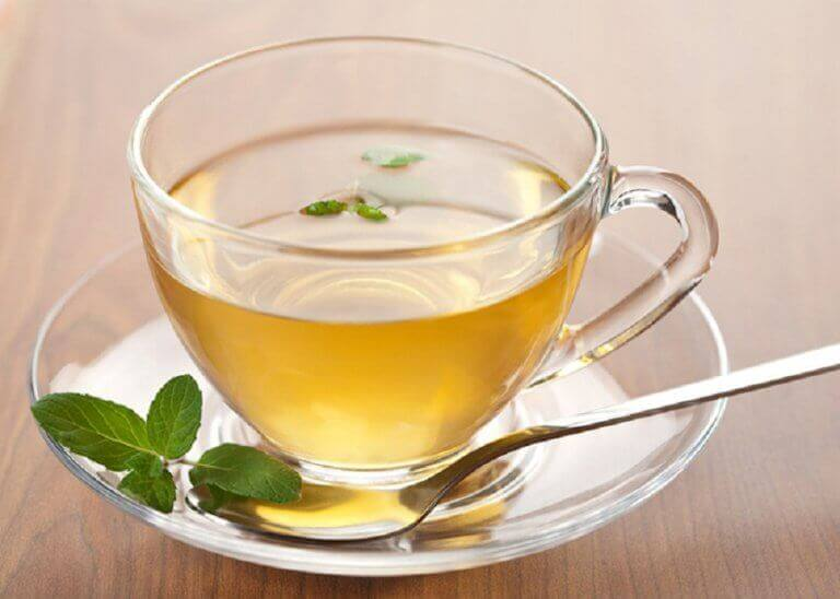 Gewicht verliezen met groene thee