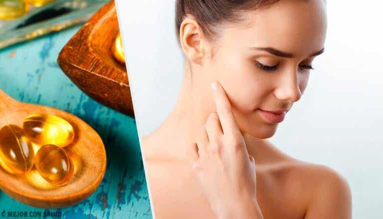Gebruik vitamine E-capsules voor je huid