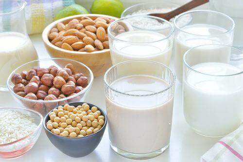 Verschillende bronnen van calcium