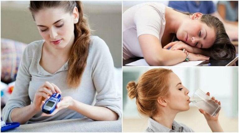 8 symptomen in de beginfase van diabetes