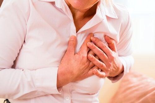Vrouw hartaanval