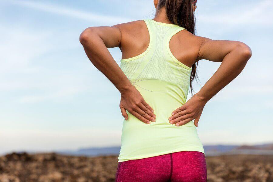 Oorzaken van rugpijn, spierzwakte