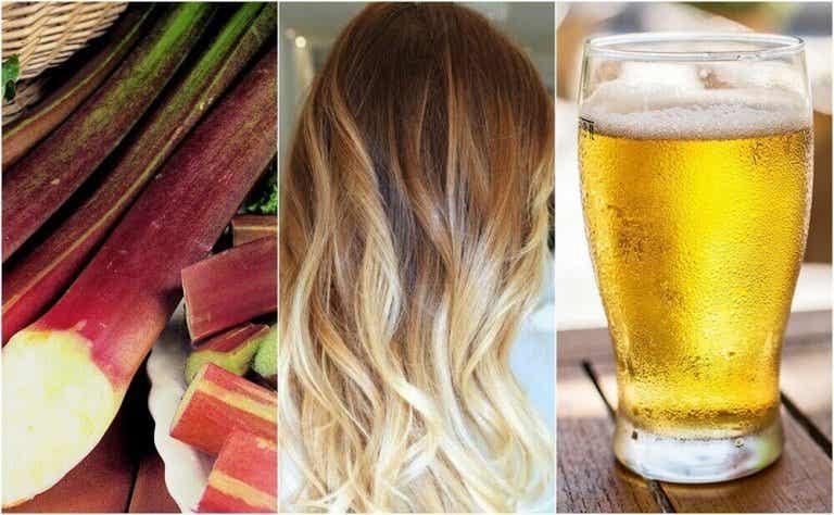 Een lichtere haarkleur op een natuurlijke manier