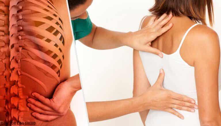 Problemen van de wervelkolom als gevolg van stress