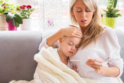 Dubbel zicht en koorts bij meningitis