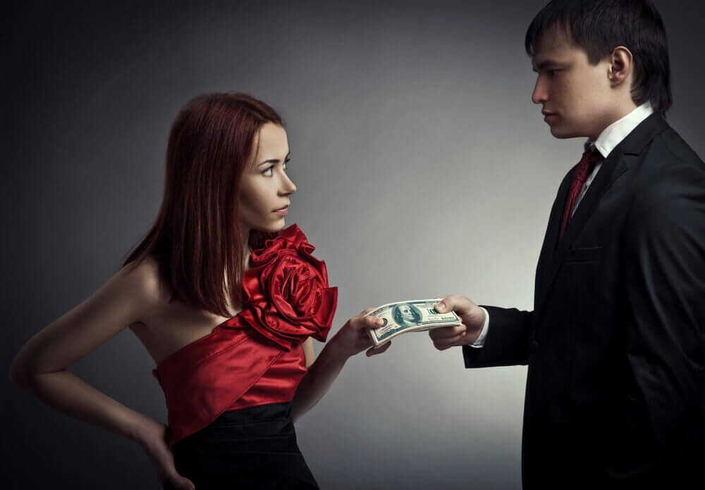 De man voor jou is niet geïnteresseerd in je geld of bezittingen