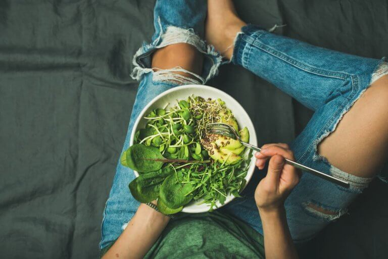 Salade tegen ijzergebreksanemie