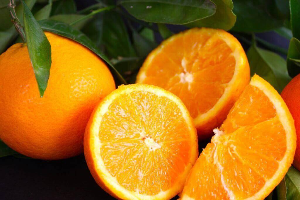 Sinaasappel tegen spataderen