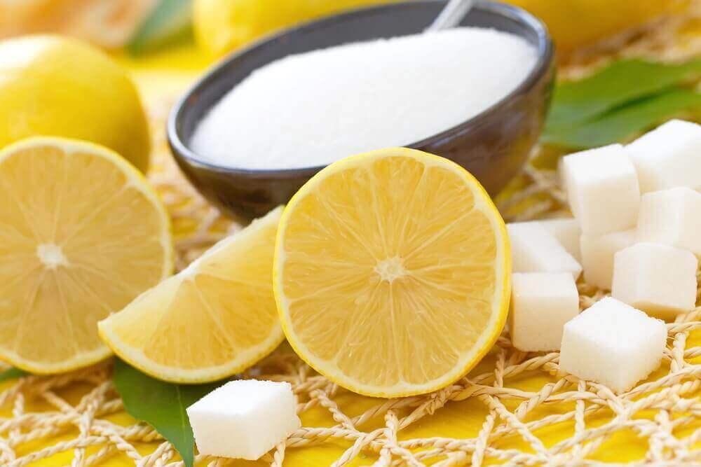 Mooie en gezonde huid met citroen