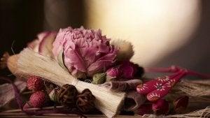 Parfumeer je huis met gedroogde bloemen