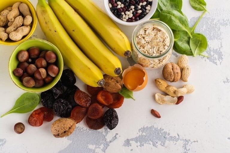Welke voedingsmiddelen bevatten een grote hoeveelheid kalium?