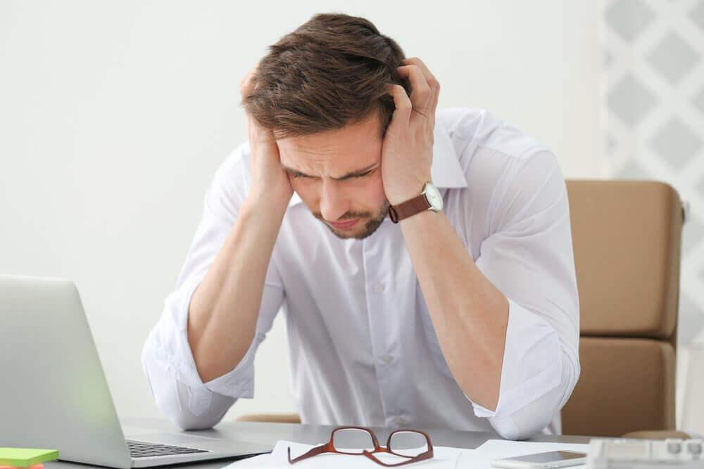 Veel voorkomende hoofdpijn vanuit de nek