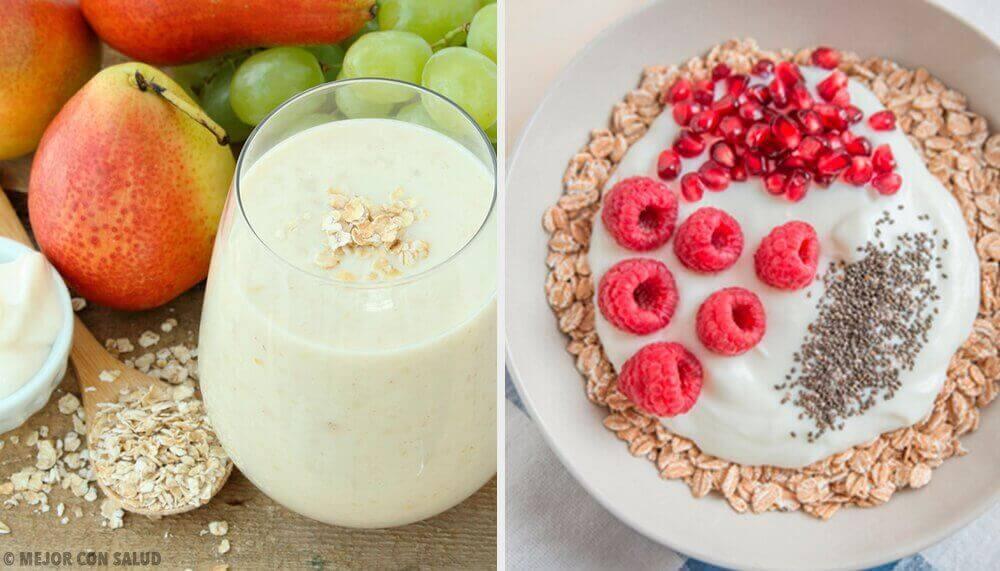 Vier ontbijten met havermout om je metabolisme te versnellen