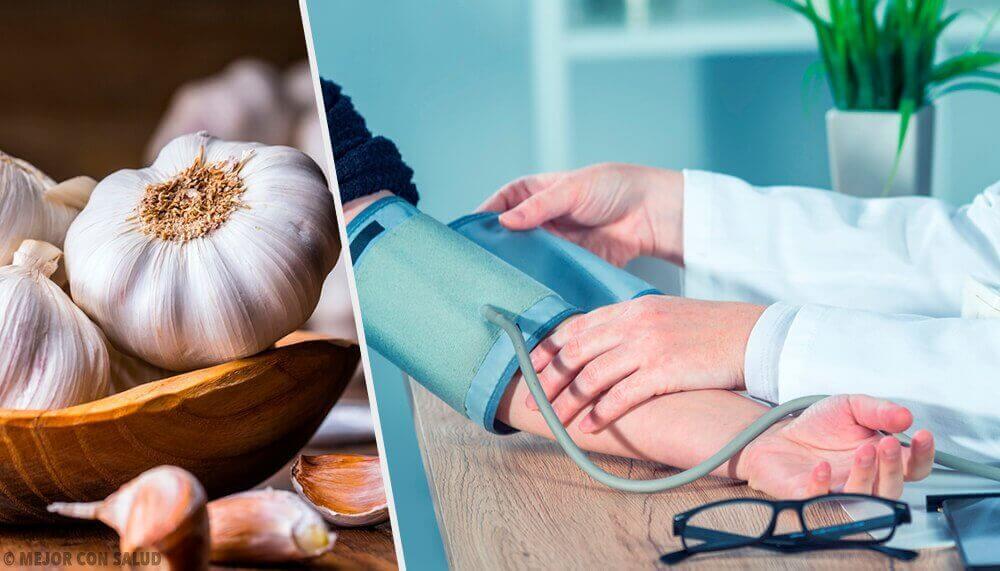 Gebruik knoflook als een natuurlijke behandeling tegen hoge bloeddruk