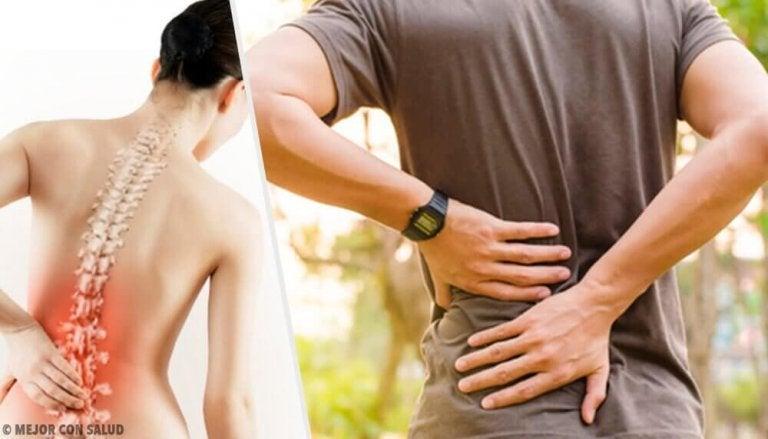 6 gezondheidsproblemen die rugpijn veroorzaken