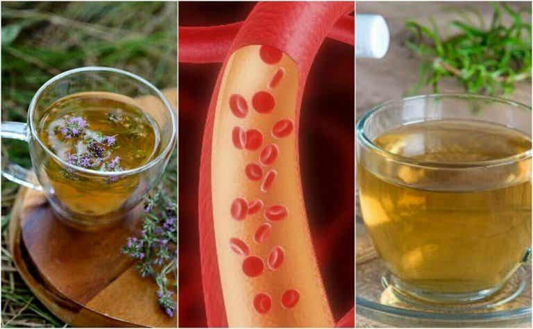 Probeer deze 5 soorten kruidenthee en reinig de slagaders op een natuurlijke manier